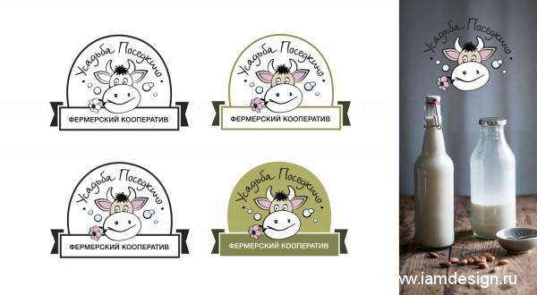 Разработка логотипа для фермерского кооператива Усадьба Поседкино